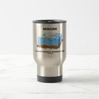 Moulins A Glacier's Internal Plumbing System Travel Mug