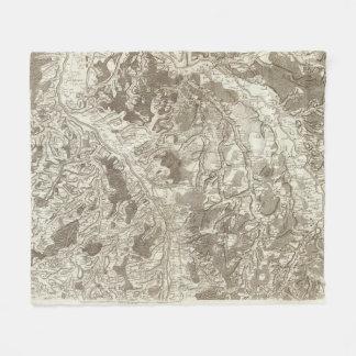 Moulins Fleece Blanket
