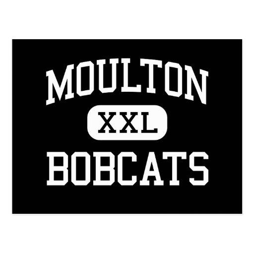 Moulton - Bobcats - High School - Moulton Texas Post Cards