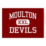 Moulton - diablos - escuela secundaria - Moulton A Felicitaciones