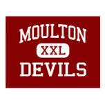 Moulton - diablos - escuela secundaria - Moulton A Tarjetas Postales
