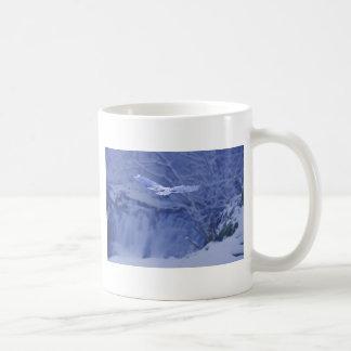 Moulton Falls Washington - Snowy Owl Spirit Coffee Mug