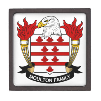 Moulton Family Crest Jewelry Box