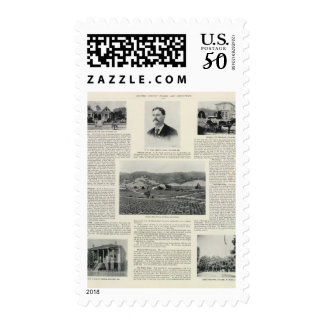 Moulton Hill Winery, California Postage