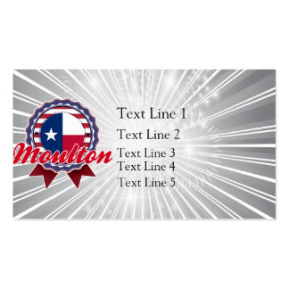 Moulton, TX Double-Sided Standard Business Cards (Pack Of 100)