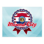 Mound City, MES Tarjeta Postal