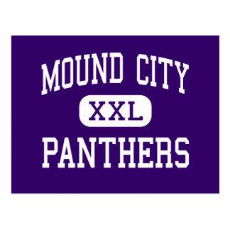 Mound City - Panthers - High - Mound City Missouri Postcard