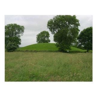 Mound On Top Of Navan Fort Postcard