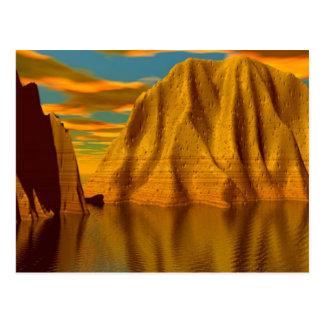 Mounds of Randoor Postcard