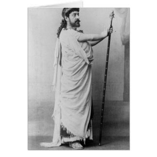 Mounet-Sully  as Oedipus in 'Oedipus Rex' Card