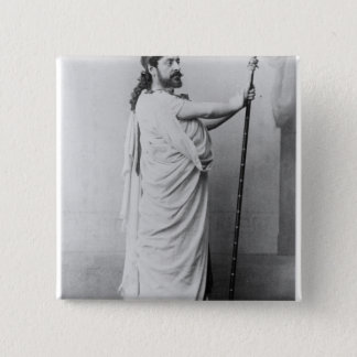 Mounet-Sully  as Oedipus in 'Oedipus Rex' Pinback Button