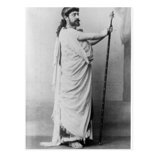 Mounet-Sully  as Oedipus in 'Oedipus Rex' Postcard