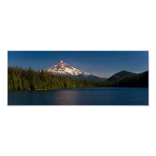 Mount Adams and Lost Lake in Summer Posters