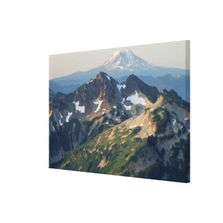 Mount Adams, The Tatoosh Range, and Mount Rainier Canvas Print