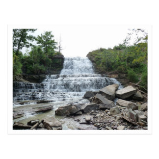 Mount Albion Falls Post Card