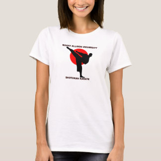 Mount Allison Shotokan Karate Babydoll T T-Shirt