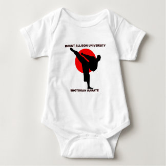 Mount Allison University Shotokan Karate Baby Bodysuit
