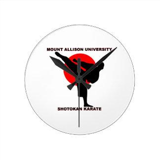 Mount Allison University Shotokan Karate Clock