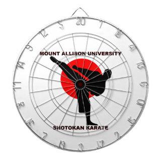 Mount Allison University Shotokan Karate Dart Boards