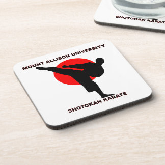 Mount Allison University Shotokan Karate Drink Coaster