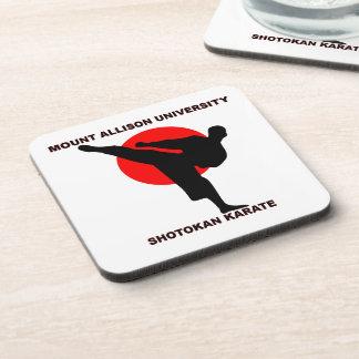 Mount Allison University Shotokan Karate Drink Coaster