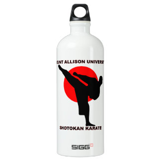 Mount Allison University Shotokan Karate Water Bottle