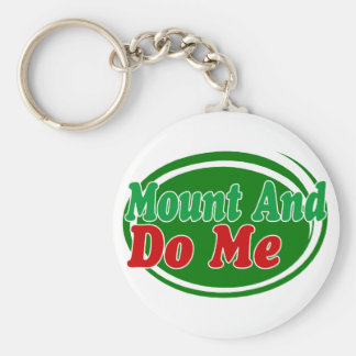 Mount And Do Keychain