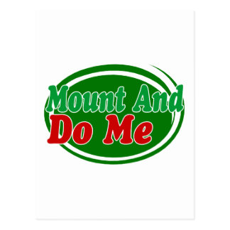 Mount And Do Postcard