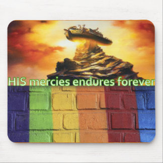 Mount Ararat, Nah's ark, rainbow mousepad