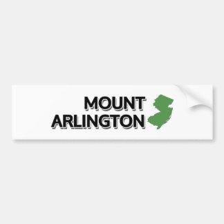 Mount Arlington, New Jersey Bumper Sticker