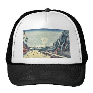 Mount Atago at Shiba by Utagawa, Kuninao Ukiyoe Trucker Hat