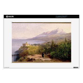 """Mount Athos and the Monastery of Stavroniketes, 18 Decals For 15"""" Laptops"""