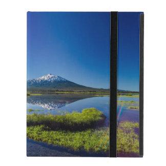 Mount Bachelor Lens Flare iPad Case