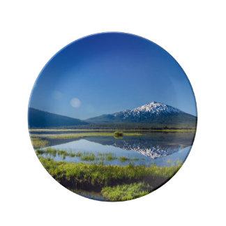 Mount Bachelor Lens Flare Plate
