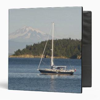 Mount Baker dominates landscape 2 Vinyl Binder