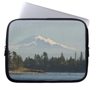 Mount Baker dominates landscape Computer Sleeve