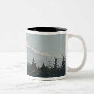 Mount Baker dominates landscape Mug