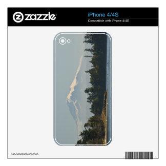 Mount Baker dominates landscape Skins For The iPhone 4S