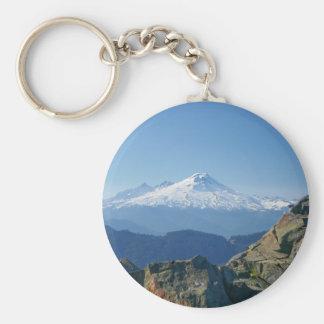 Mount Baker keychain