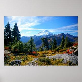 Mount Baker Poster