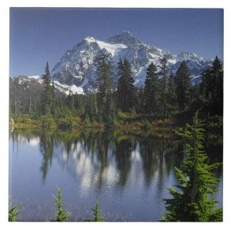 Mount Baker-Snoqualmie National Forest Ceramic Tile