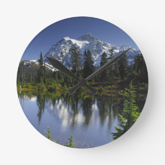 Mount Baker-Snoqualmie National Forest Round Clock