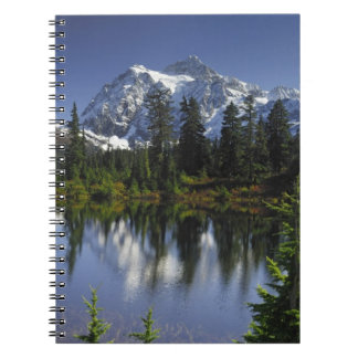 Mount Baker-Snoqualmie National Forest Spiral Notebook