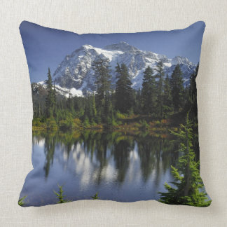 Mount Baker-Snoqualmie National Forest Throw Pillow