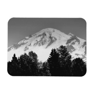 Mount Baker Through Trees Magnet