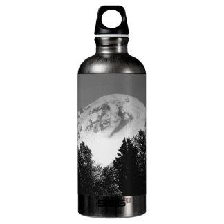 Mount Baker Through Trees Water Bottle