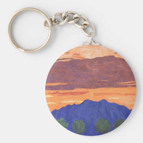 Mount Baldy Keychain
