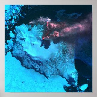 Mount Belinda Erupts Posters