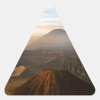 Mount Bromo Triangle Sticker