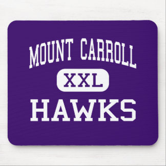 Mount Carroll - Hawks - High - Mount Carroll Mouse Pad